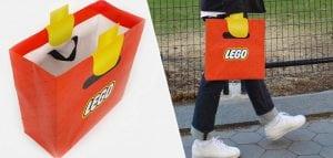 packaging bolsa LEGO