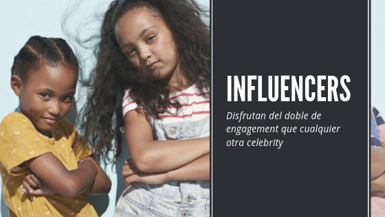 marketing infantil: influencers